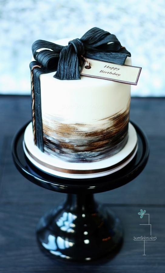 Торт  на день рождения  № 1183