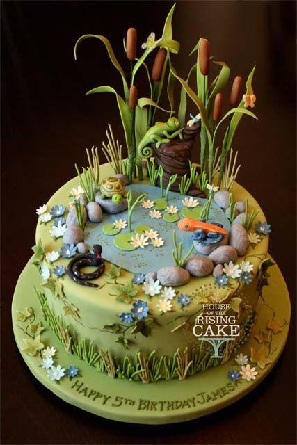 Торт  на день рождения  № 1208