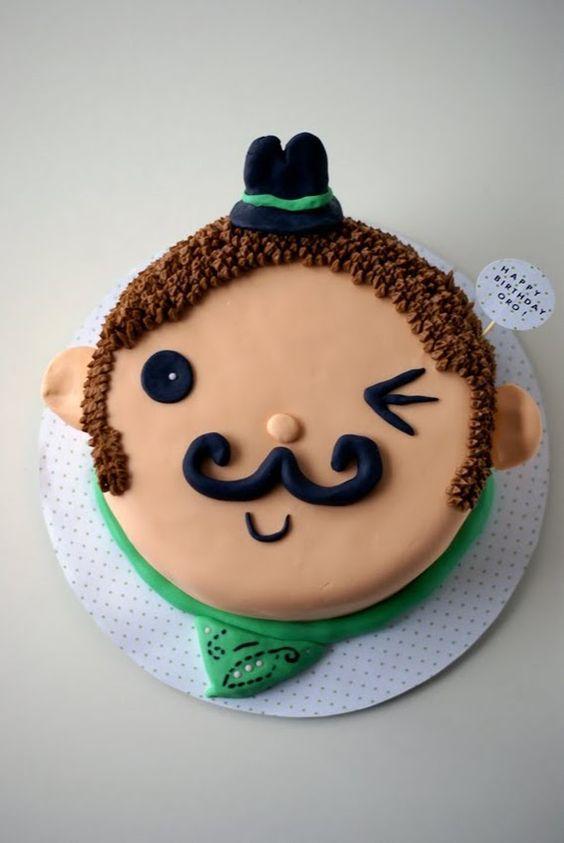 Торт  на день рождения  № 1210