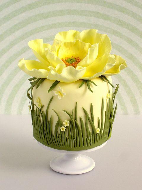 Торт  на день рождения  № 1211