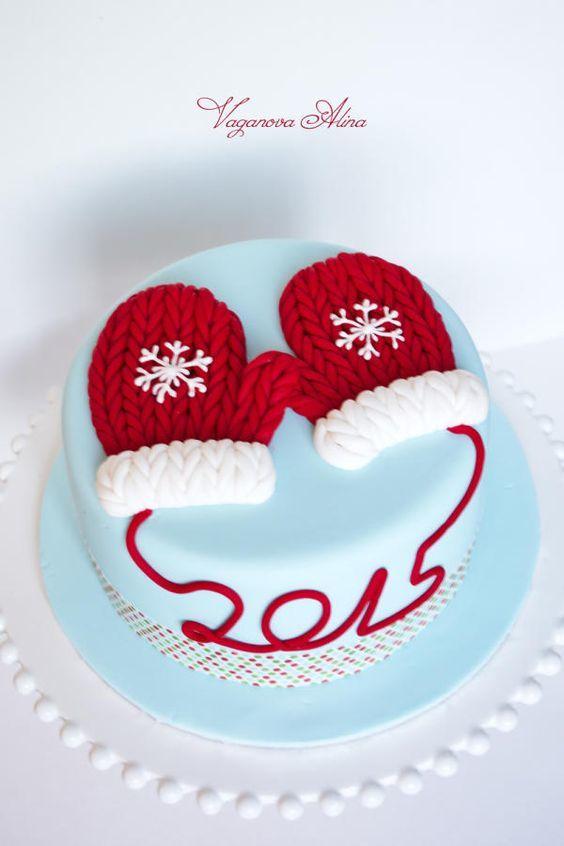 Торт  на Рождество  № 1222