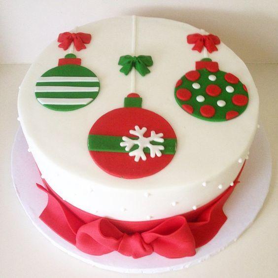 Торт  на Рождество  № 1223