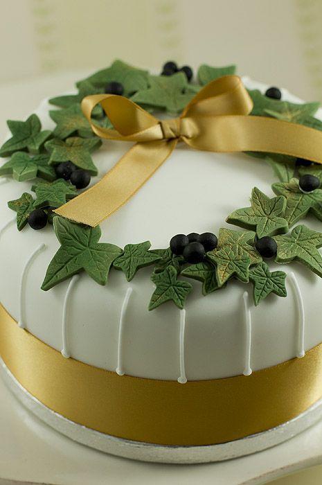 Торт  на Рождество  № 1224