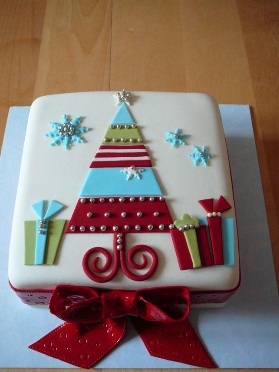 Торт  на Рождество  № 1225