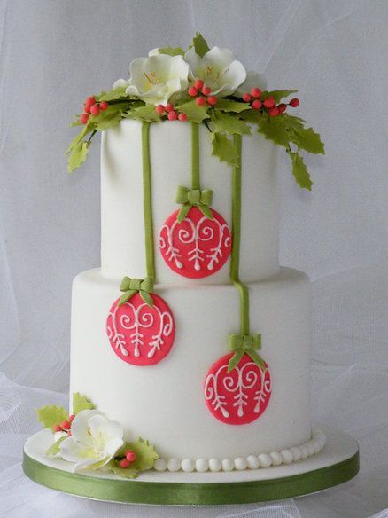 Торт  на Рождество  № 1229