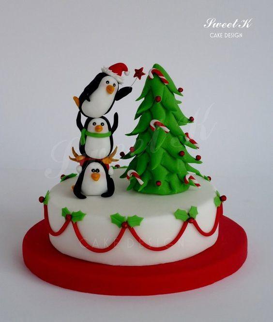 Торт  на Рождество  № 1230