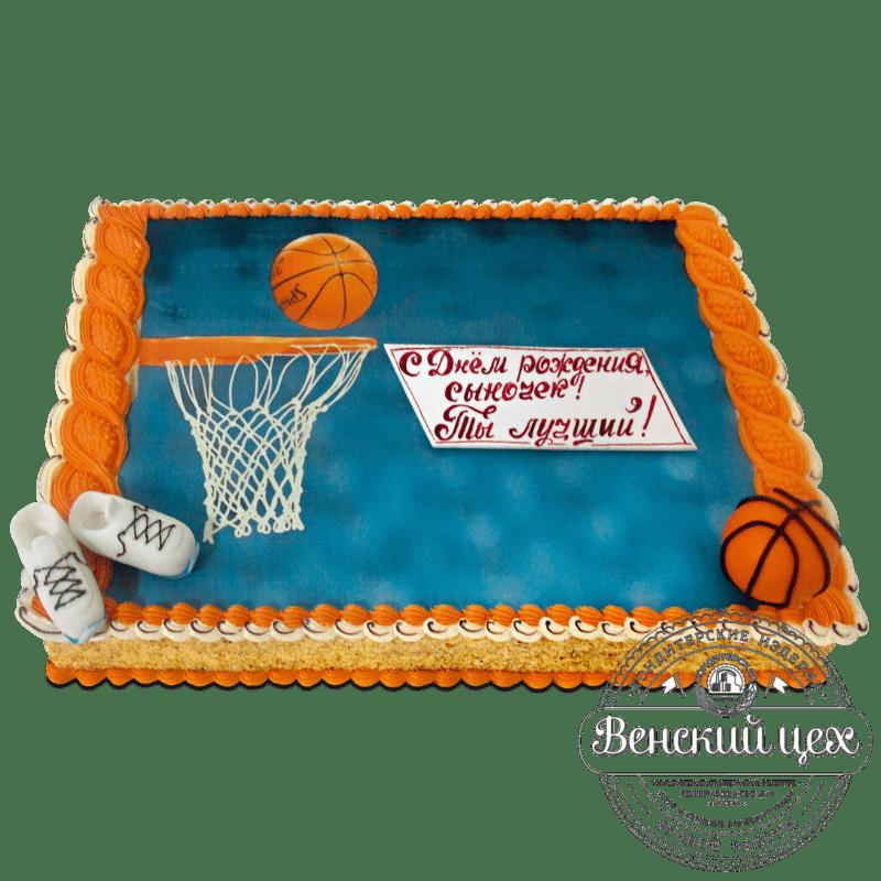 """Торт """"Баскетболисту"""" №1252"""