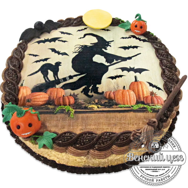 """Торт детский """"Ведьма"""" №1261"""