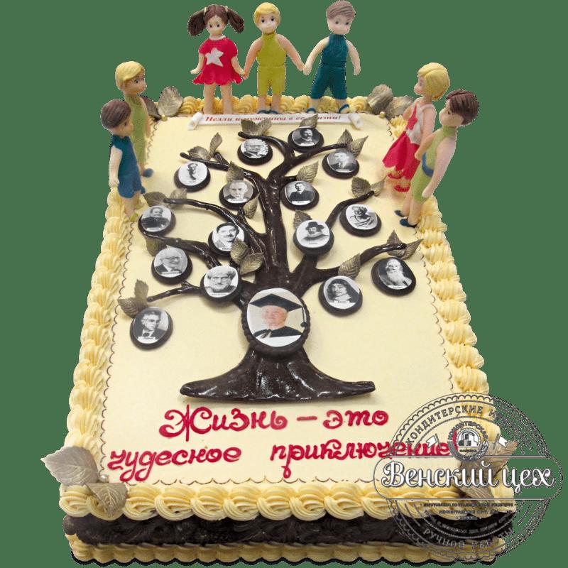 "Торт на праздник ""Семейное древо"" №1288"