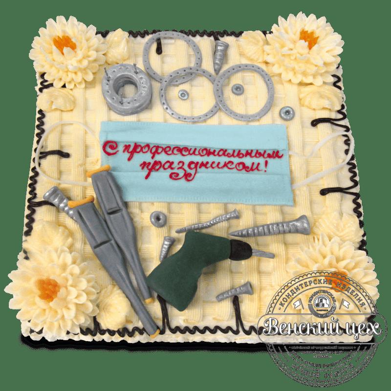 """Торт на корпоратив """"Мастерам"""" №1316"""