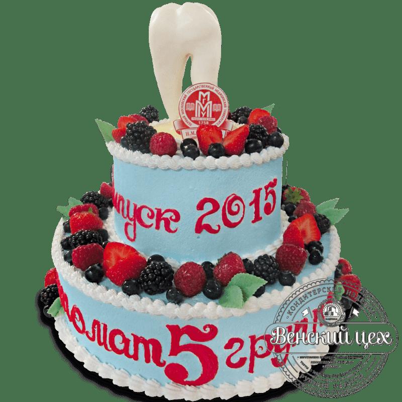 "Торт на корпоратив ""Стоматологический"" №1317"