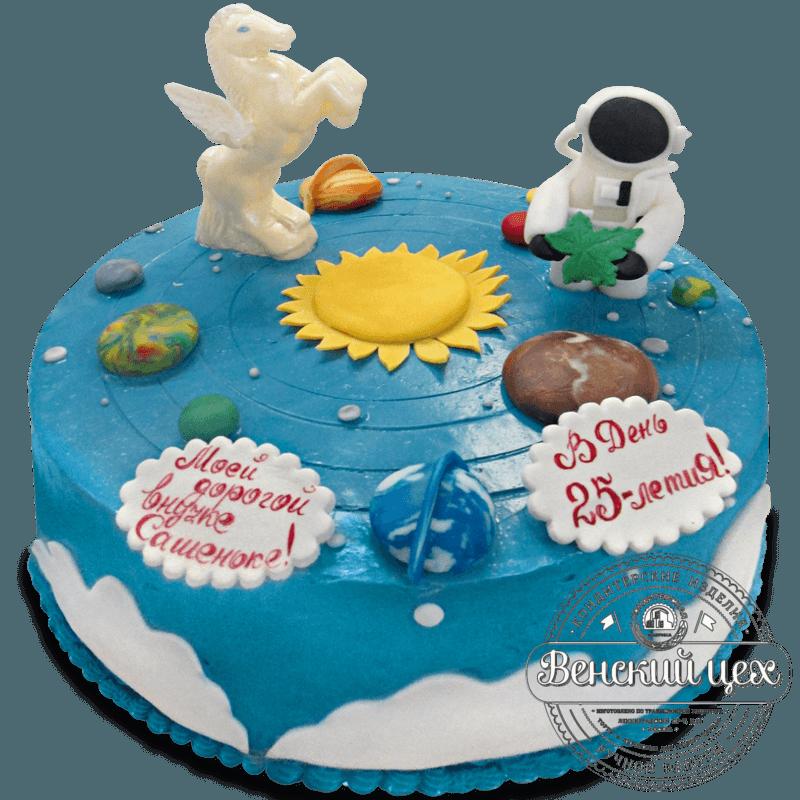 """Торт детский """"Солнечная система"""" №1342"""