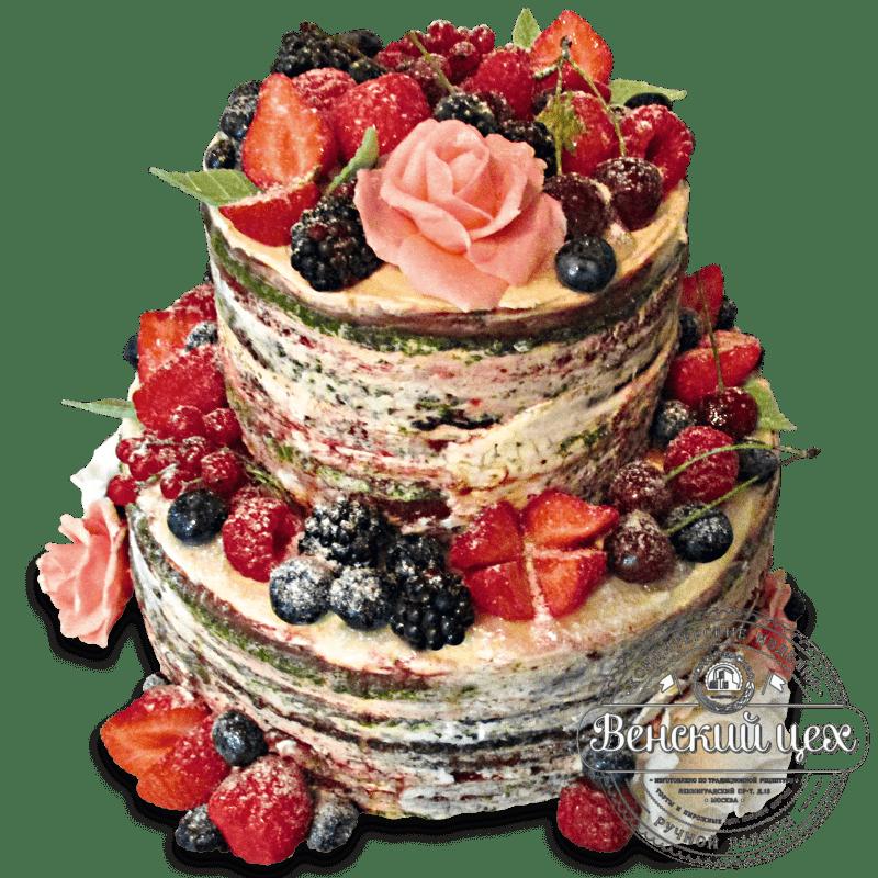 Торт свадебный №1350