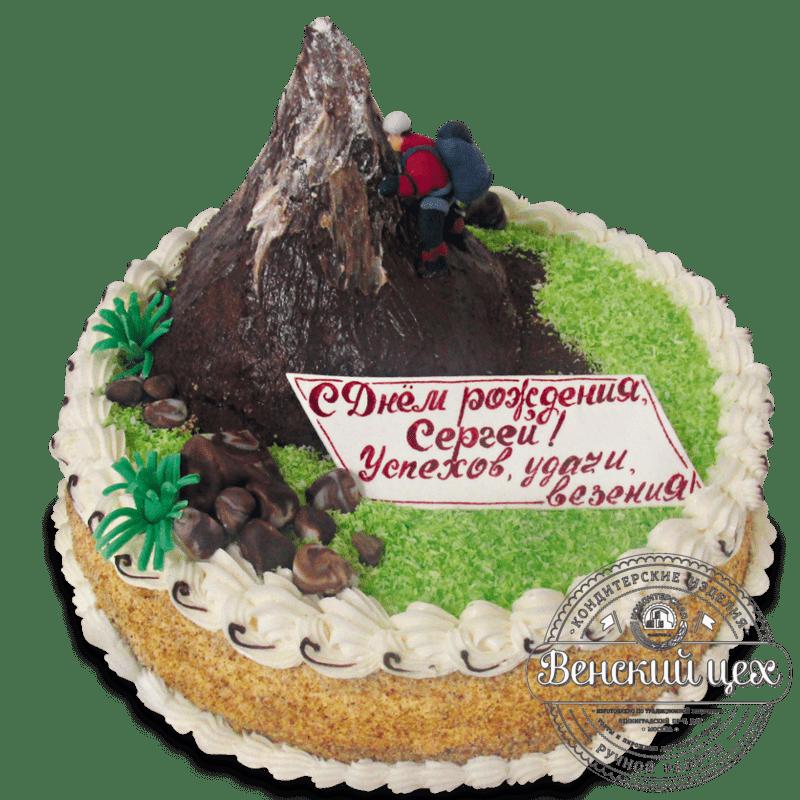 """Торт надень рождения """"Альпинист"""" №1359"""