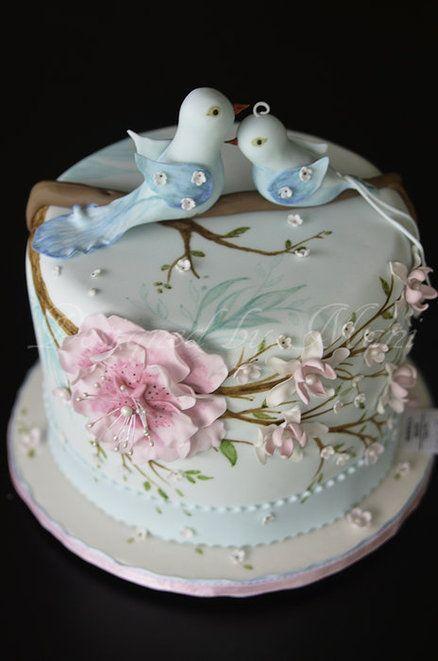 Торт на день рождения № 1408