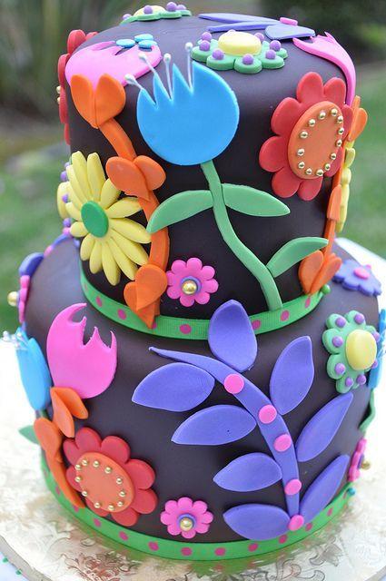 Торт на день рождения № 1415
