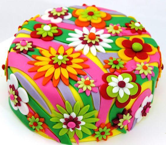Торт на день рождения № 1416