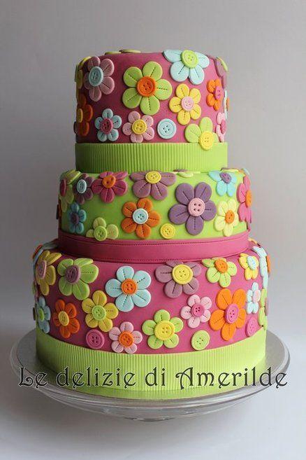Торт на день рождения № 1417