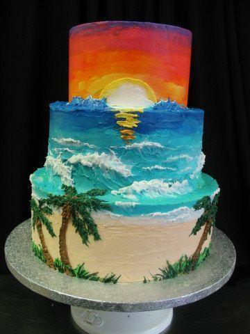 Торт свадебный  № 1436