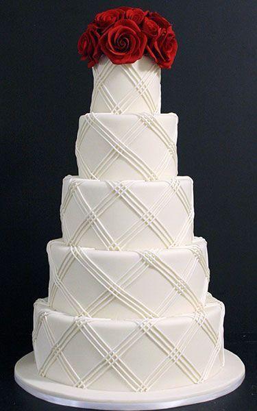 Торт свадебный  № 1443