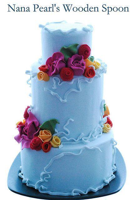 Торт свадебный  № 1444