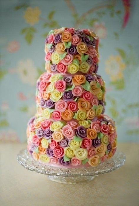 Торт свадебный  № 1446