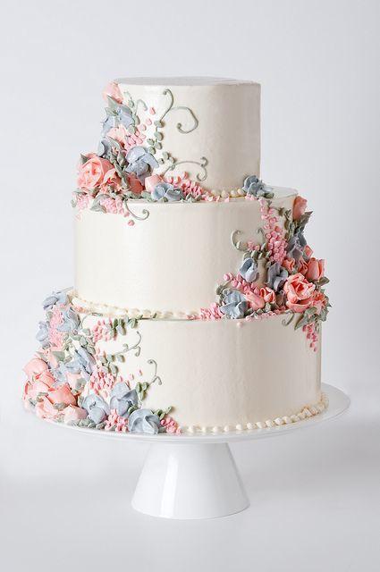 Торт свадебный  № 1447