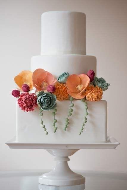 Торт свадебный  № 1450