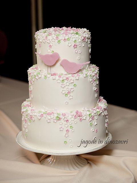Торт свадебный  № 1452