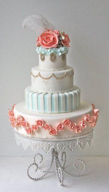 Торт свадебный  № 1454