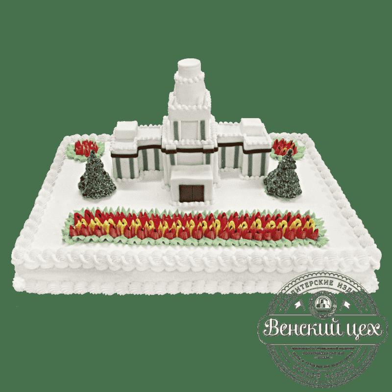 Торт на корпоратив «Белый дом» №15