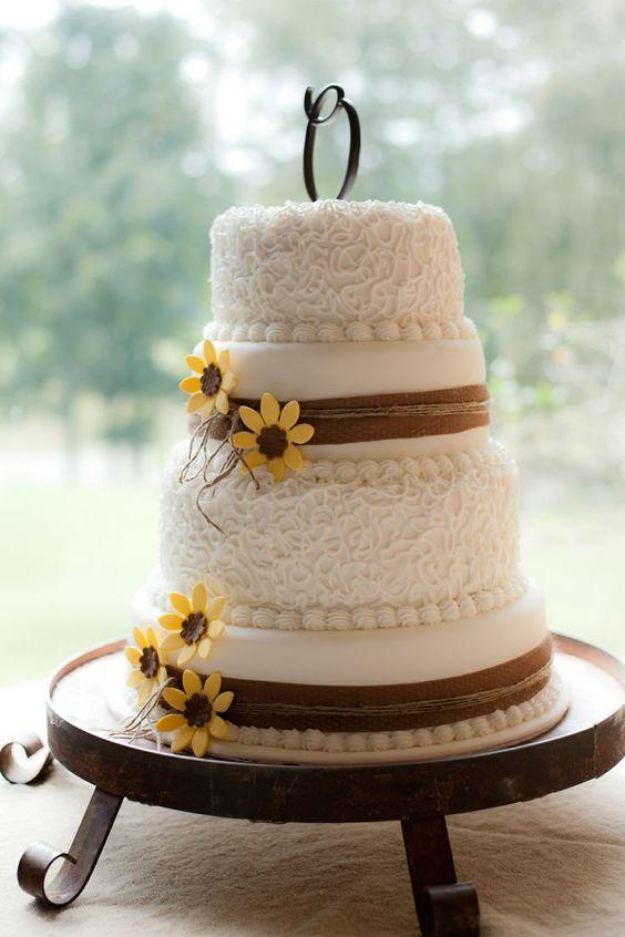 Торт свадебный №1536