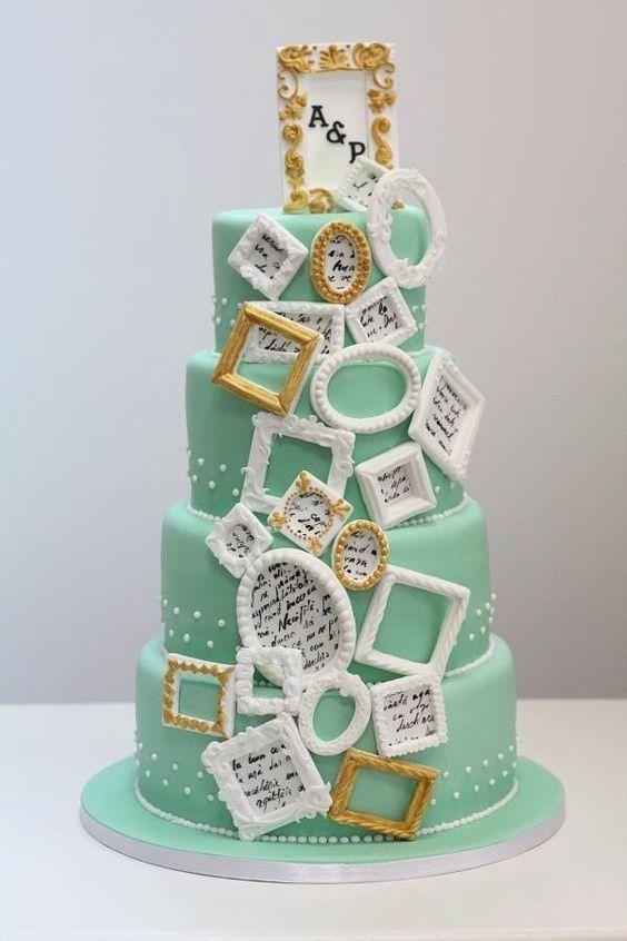 Торт свадебный на годовщину №1537