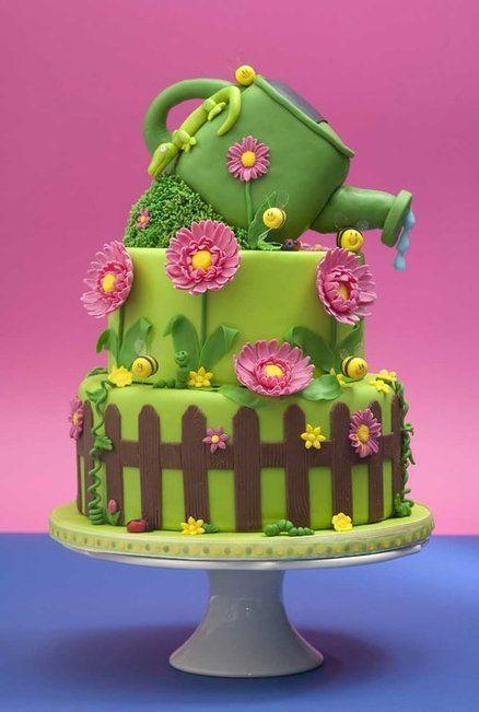 Торт на день рождения №1558