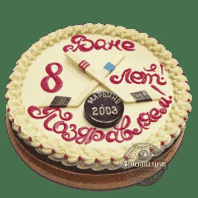 """Торт детский """"Хоккей"""" №156"""
