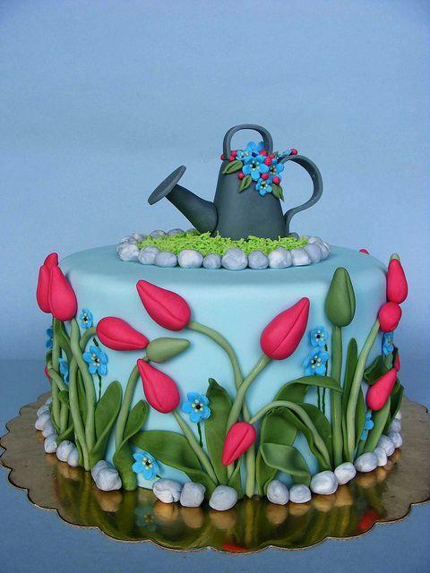 Торт на день рождения №1564