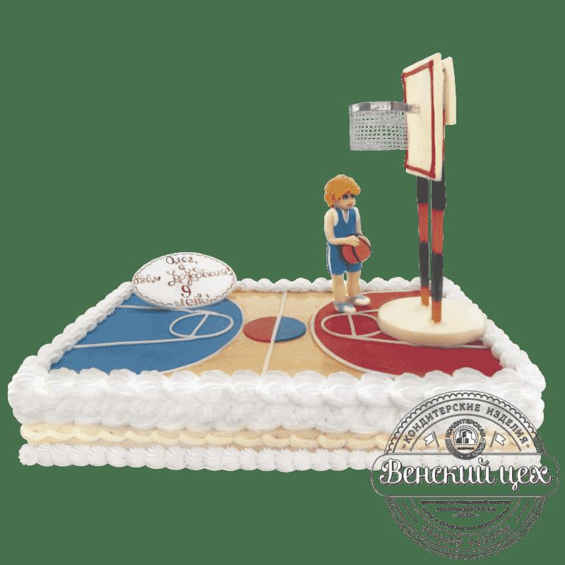 """Торт детский """"Баскетбол"""" №158"""