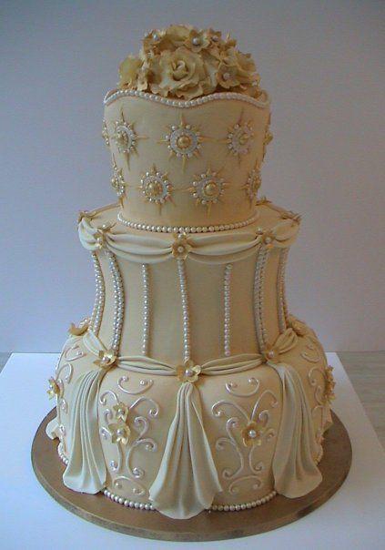 Торт свадебный №1589