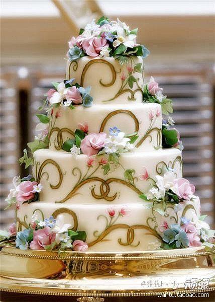 Торт на день рождения №1592