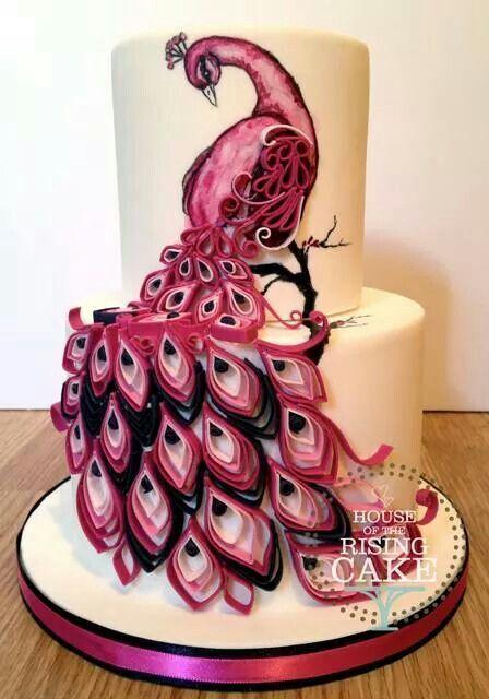 """Торт на день рождения """"Жар-птица"""" №1593"""