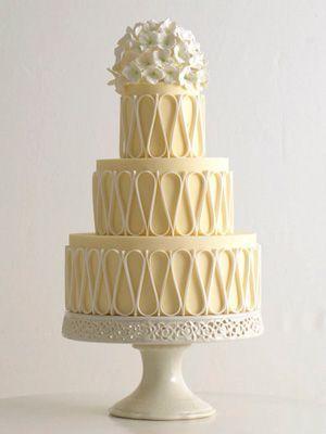 Торт свадебный №1598