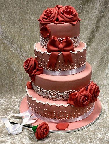 Торт на день рождения №1600