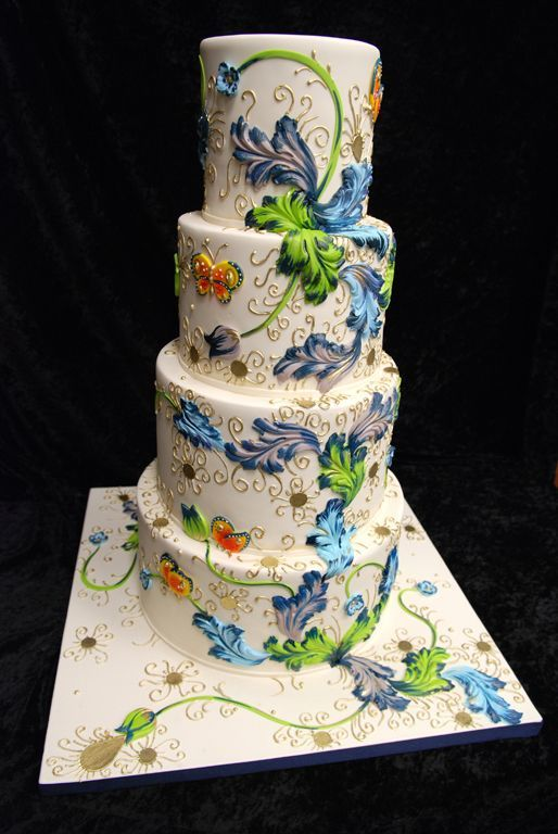 Торт свадебный №1602
