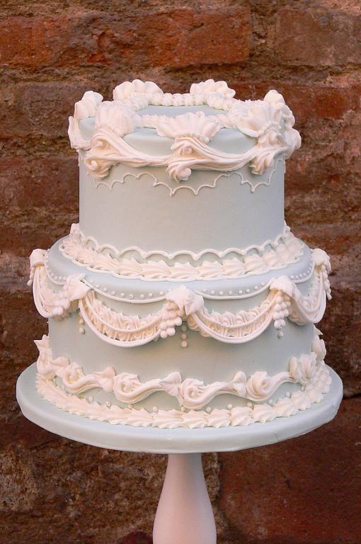 Торт свадебный №1603