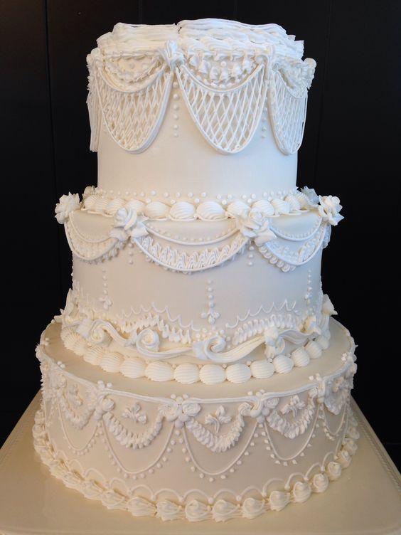 Торт свадебный №1604