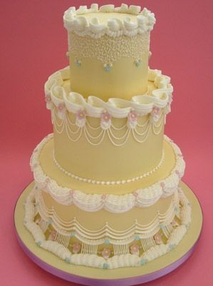 Торт свадебный №1607