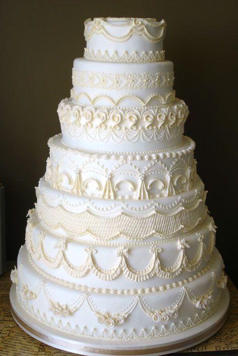 Торт свадебный №1608