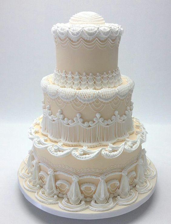 Торт свадебный №1609