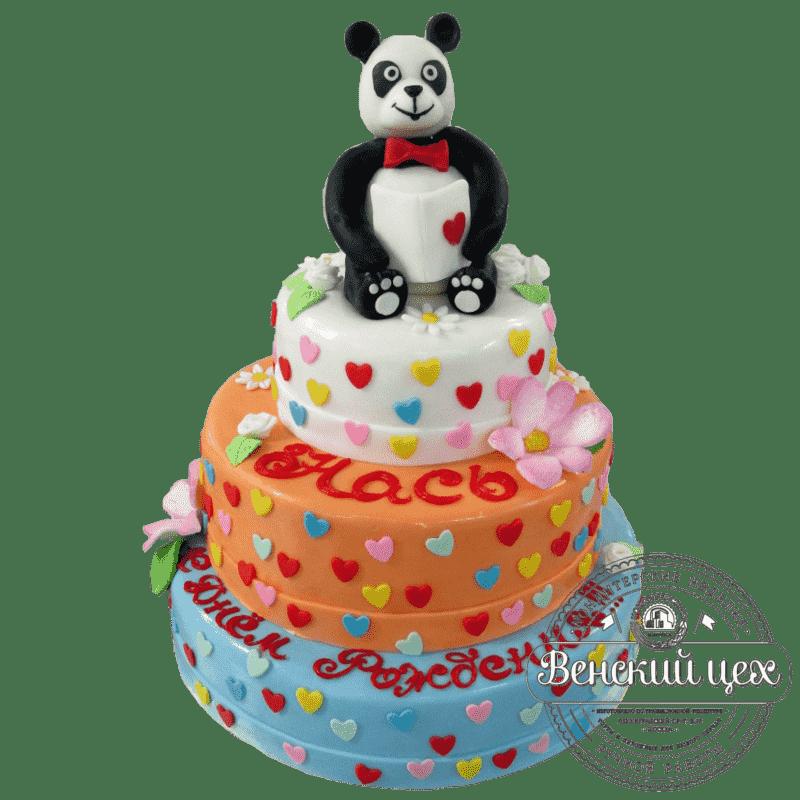 """Торт детский """"Панда"""" №161"""