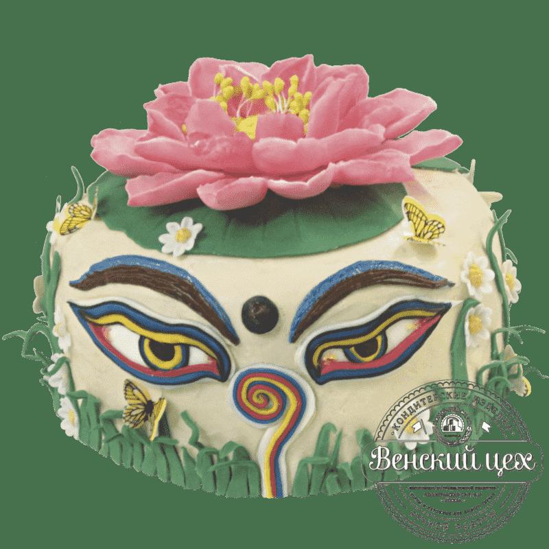 """Торт детский для девочки """"Лотос"""" №162"""